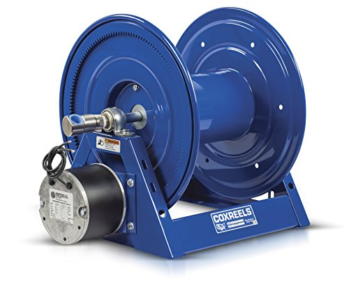Motorized Reels (Coxreels HP1125-4-500-E 12 VDC 1/3 hp Motorized Hose Reel 1/2