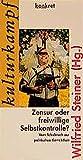 img - for Zensur oder freiwillige Selbstkontrolle?: Vom Tabubruch zur politischen Korrektheit (Konkret Texte) (German Edition) book / textbook / text book
