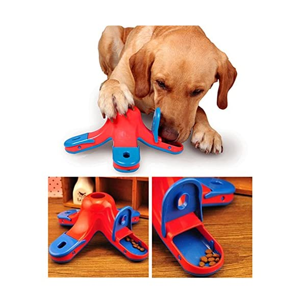 CLKJCAR Dog Training Toys, Dog Educational Toys Dog Feeder Puzzle Dog Food Toy Dog Toys Slow Feed Bowl 2