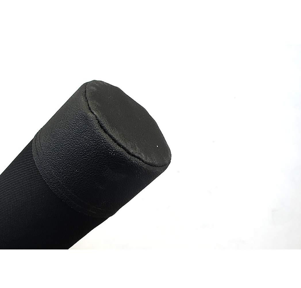 WAHHY Angelbeutel 1,2 m zylindrische Stange Verpackung Hartplastisches Material stabil und leichte Leistung Praktischer Angelbeutel Angelbeutel
