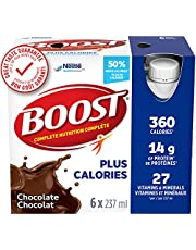 BOOST PLUS Complete Nutrition Drink, Chocolate, 24 x 237 ml