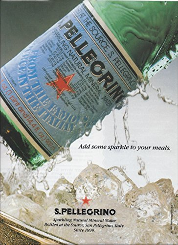 Some Sparkle - **PRINT AD** For San Pellegrino Water Add Some Sparkle To Your Meals