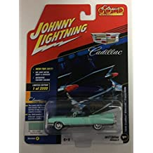 Johnny Lightning JLCG007 Classic Gold Version A 1959 Cadillac Eldorado Convert