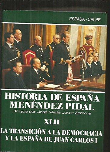 De la transicion a la democracia yla España de Juan Carlos I historia de España, xlii: Amazon.es: Menendez Pidal: Libros
