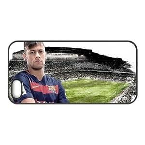Generic hard plastic Neymar JR Cell Phone Case for iPhone 5 5S SE Black ABC8354434