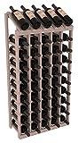 Wine Racks America Redwood 5 Column 10 Row Display Top Kit. 13 Stains to Choose From!