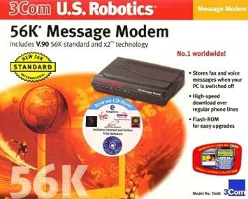 Drivers for 3Com Modem 56K Pro Msg Modem x2