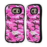 Official Support British Soldiers Pink Camo Hybrid Case for Samsung Galaxy S6