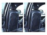 2 X Rückenlehnenschutz Sitzschoner Transparent Schutzfolie