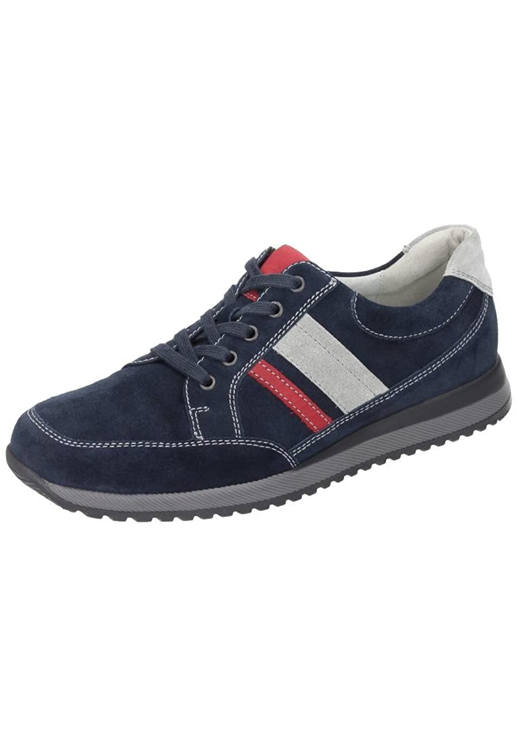 Waldl@ufer mens lace-up shoe deepblue