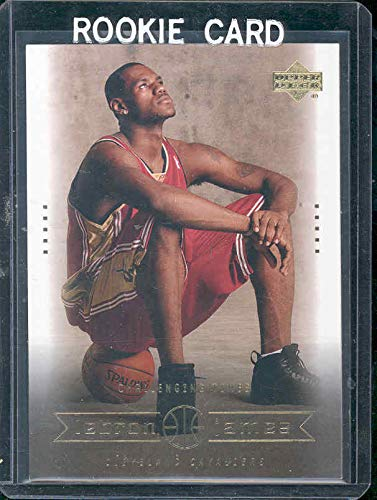 2004 Upper Deck #26 Challenging Times Lebron James Rookie Card - Mint Condition Ships in a Brand New Holder