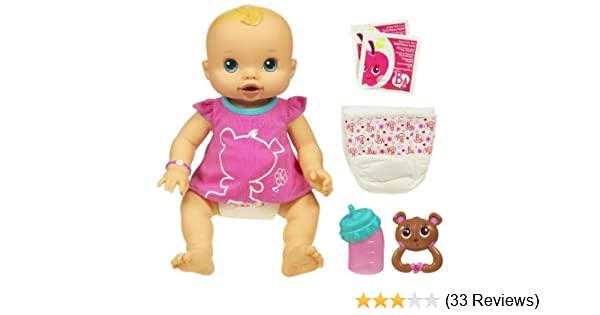 Baby Alive Whoopsie Doo Doll (Caucasian Girl)