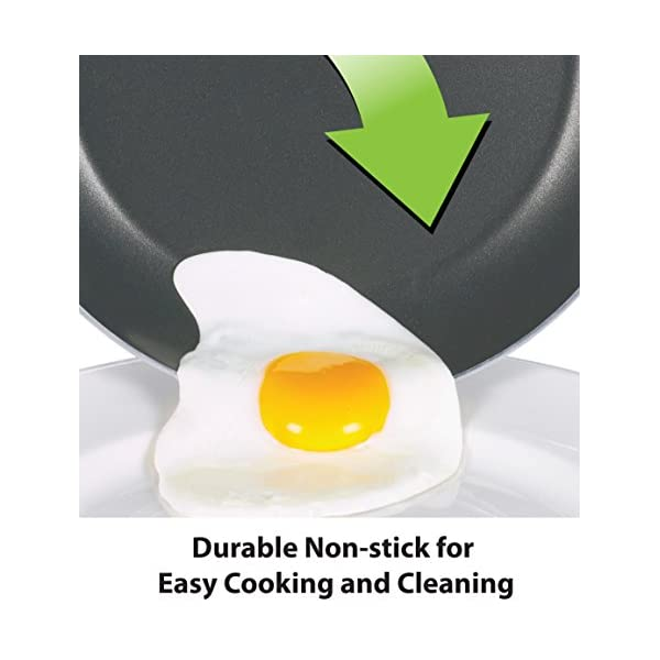 T-fal FBA_A821SI64 Initiatives Nonstick Inside and Out, 18-Piece, Black 3