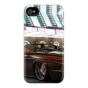 Awesome Ford Thunderbird Flip Case With Fashion Design For Iphone 4/4s