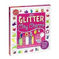 Klutz Make Glitter Clay Charms Craft Kit