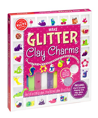 Gift ideas for a 9 year old neice? Klutz Make Glitter Clay Charms Craft Kit