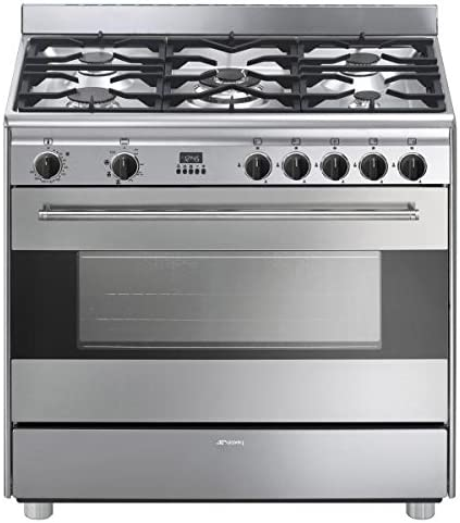 Piano de horno gas SMEG bg91ctx: Amazon.es: Grandes electrodomésticos