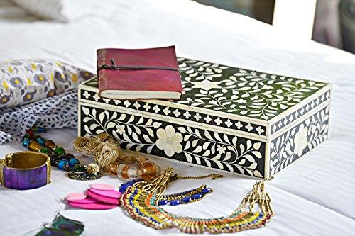 Black Bone Inlay Box