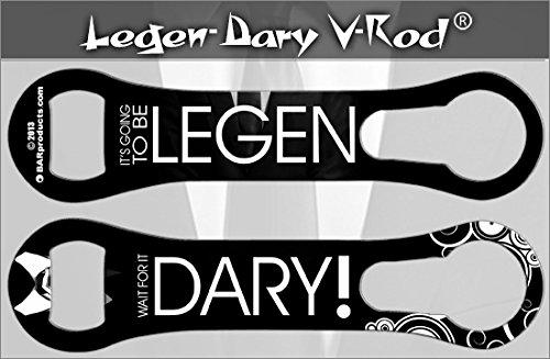 BarConic Legend.Dary KolorcoatTM V-Rod Bottle Opener