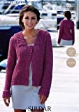 Crochet Jacket in Sirdar Country Style 4 Ply - 9506