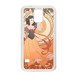 Disney Snow White And The Seven Dwarfs Character Samsung Galaxy S5 Cell Phone Case White persent xxy002_6854719