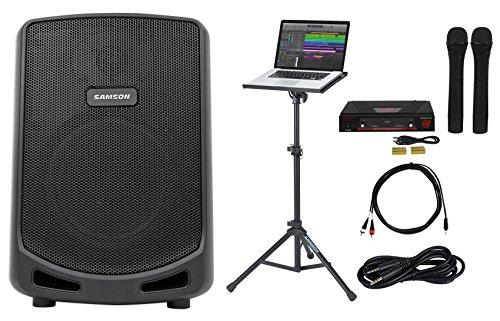 "Samson 6"" Portable YouTube Karaoke Machine/System+ Wireless"
