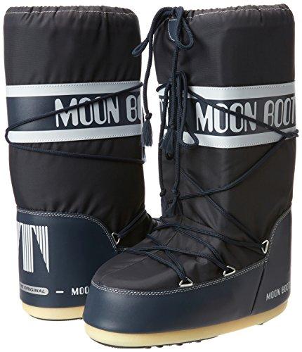 Botas Moon blue 64 Adulto Tecnica Nieve Azul De Jeans Unisex Boot Nylon 7xaSnZaw