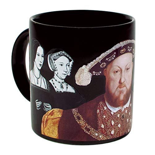 Watch Time Teacher Friends (The Unemployed Philosophers Guild Henry VIII Disappearing Coffee Mug - Add Hot Water and Watch Henry's Wives Disappear - Comes in a Fun Gift Box)
