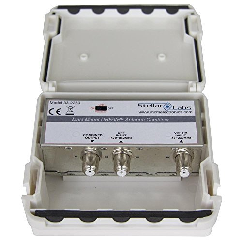 Masthead Antenna Combiner Vhf UHF Inputs Combined Output