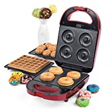 Downtown 3 in 1 Snake Treat Maker - Makes Waffles, Cake Pops and Doughnuts