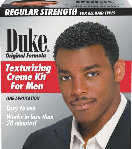 Duke Texturizing Creme Kit for Men Regular (Pack of 2) Creme Texturizing Kit