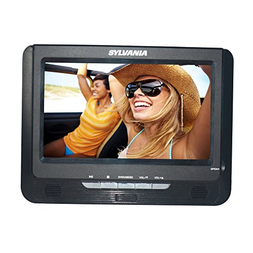 Sylvania SDVD9957 Portable DVD Player with Dual 9'' Screen (Black) by Sylvania