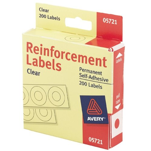 Avery Round Self Adhesive Reinforcement Labels