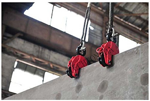 Vertical Hoist - Vertical Plate Lifting Clamp With Lock Hoist Hook Chain Lifter Machine 3Ton