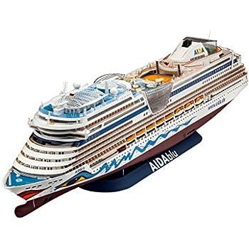 Amazoncom Revell Revell Cm Cruiser Ship Aida Model Kit - Model cruise ship kits