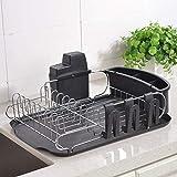 Best Dish Drying Racks - Loclgpm Rust-Proof Kitchen Draining Dish Drying Rack, Dish Review