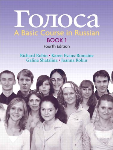 Golosa: A Basic Course in Russian, Book 1 (4th Edition) (Bk. 1)