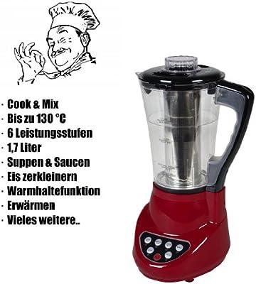 Super Robot de cocina Mix & Cook térmica & Función Vapor Licuadora ...