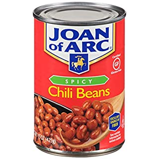 Joan of Arc Beans, Spicy Chili, 15 Ounce