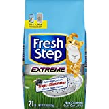 Fresh Step Extreme Clay - Non Clumping Cat Litter - Scented - 21 Pounds