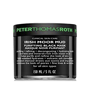 Peter Thomas Roth Irish Moor Mud Purifying Black Mask for All Skin Types, 5 Ounce by Peter Thomas Roth
