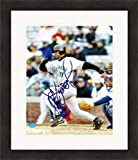 Alex Gonzalez Signed Picture - 8x10 Matted & Framed - Autographed MLB Photos