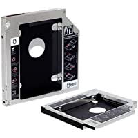Adaptador Caddy - Converte baia de gravador de laptop SATA para HD / SSD de 2.5 - Compatível com 12,5mm - AD0311