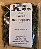 Dried Green Bell Peppers, 2 oz.