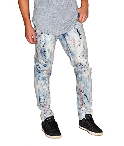 darring-usa-impressionist-painted-acid-wash-denim-motorcycle-motorbike-jeans-mens-34w