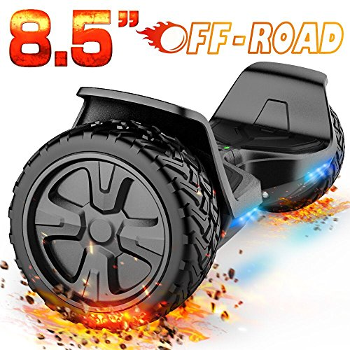 Line Slope Pack - TOMOLOO Hoverboard, Electric Self Balancing Smart Scooter, UL 2272 Certified Hover Board 8.5 Off Road Two-Wheel with Bluetooth Speaker and LED Light.