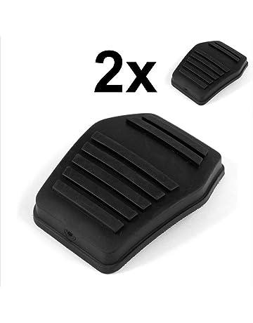 Censhaorme 1 par Pedal del Embrague Negro Cubierta de Goma Antideslizante Almohadilla de Repuesto para Ford