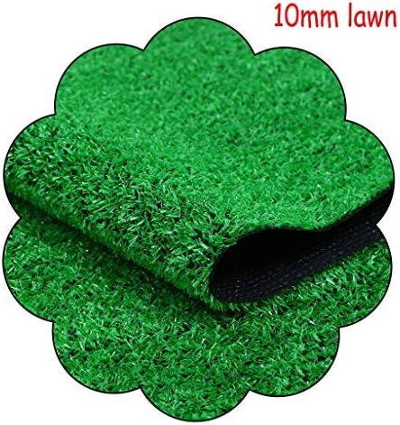 XEWNEG 10MM緑の人工芝、ペットマット、庭の壁屋外装飾フェイク芝生カーペットマット、防水性と簡単にきれいな、ノンスリップ (Size : 2x1.5M)