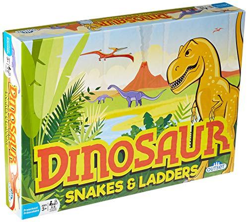 [해외]공룡 뱀 & 사다리 게임 / Dinosaur Snakes & Ladders Game