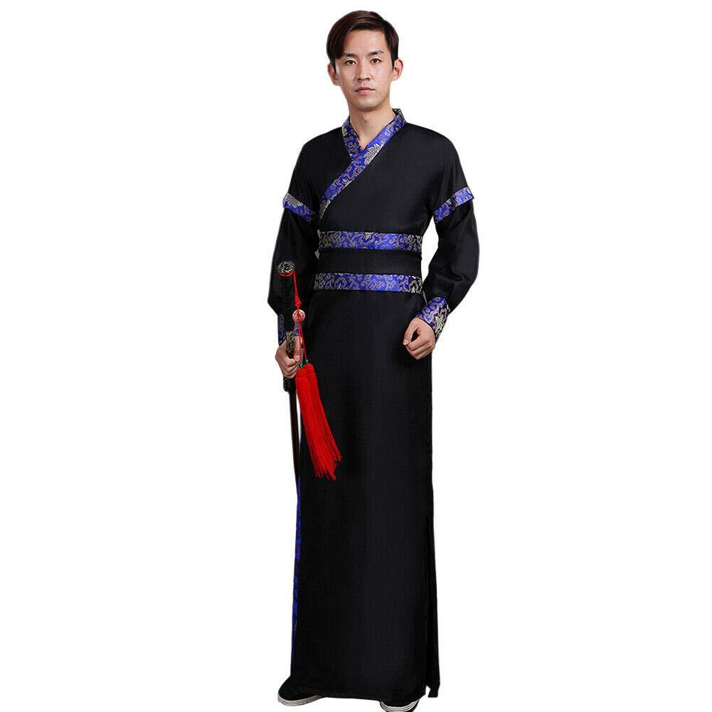 Antico Tradizionale Retro Spettacolo Teatrale Tang Suit Costume Xingsiyue Uomo Cinese Hanfu